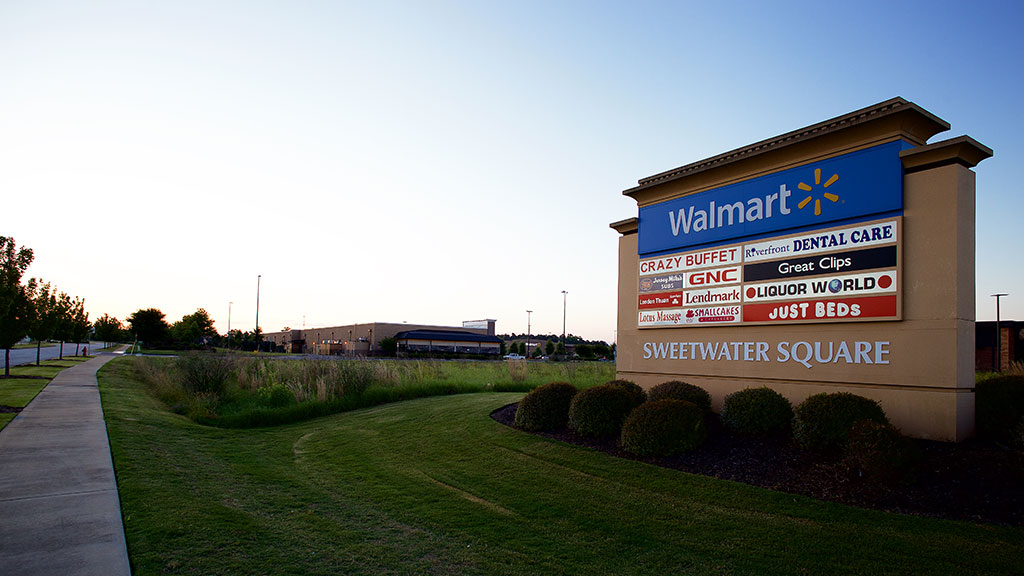 Walmart Sweetwater Square - Beam's Contracting